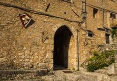 Arch of San Donato Val di Comino, Frosinone stock image