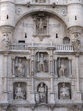 Arch of Santa Maria, Burgos Royalty Free Stock Photo
