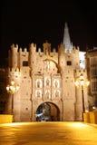 Arch of Santa Maria, Burgos Stock Image