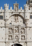 Arch of Santa Maria, Burgos. Spain Royalty Free Stock Photos