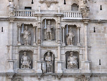 Arch of Santa Maria city gate in Burgos Royalty Free Stock Photos
