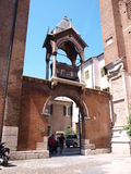 Arch of the Scaligeri family, Verona, Italy Stock Photography