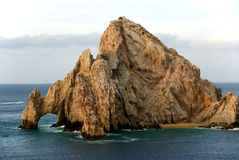 Arch at the Sea of Cortez. Arch at the tip of Baja California in the Sea of Cortez stock photo
