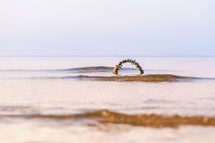 Arch in sea Royalty Free Stock Photos