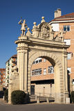 Arch in Segovia Royalty Free Stock Photos