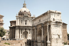 Arch of Septimius Severus Stock Photo