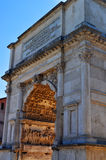 Arch of Septimius Severus, Roman Forum Royalty Free Stock Images