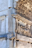 Arch of Septimius Severus, Roman Forum Stock Image