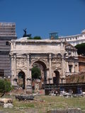 Arch of Septimius Severus, Rome, Italy Royalty Free Stock Images