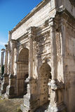 Arch of Septimius Severus Rome Royalty Free Stock Photos