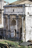 Arch of Septimius Severus in Rome Royalty Free Stock Photography
