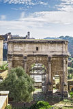 Arch of Septimius Severus, Rome Stock Image