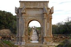 Arch of Septimus Severus Stock Images