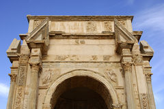 Arch of Septimus Severus Royalty Free Stock Photography