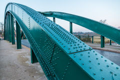 Arch shape architecture road Bridge Stock Image