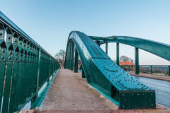 Arch shape architecture road Bridge fence Stock Photo