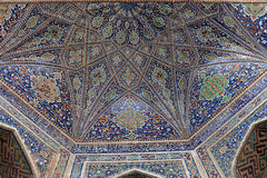 Arch of Sher Dor Madrasah Royalty Free Stock Images