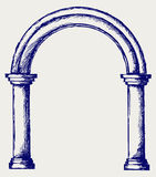 Arch sketch Stock Photography