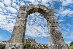 Arch of St Damian stock images