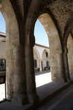 Arch in St Lazarus church Royalty Free Stock Photos