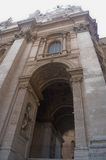 Arch in St. Peter's Basilica. Vatican Stock Photography