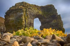 Arch of Steller. Massive stone arch Stock Images