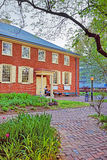 Arch Street Friends Meeting House in Old City of Philadelphia Stock Image