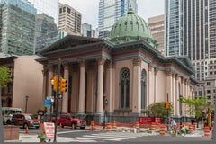 Arch Street Presbyterian Church Philadelphia. Arch Street Presbyterian church in downtown Philadelphia, Pennsylvania, United States Royalty Free Stock Photography