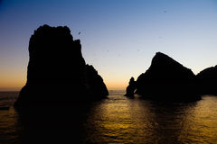 The Arch at Sunset in Cabo Royalty Free Stock Image