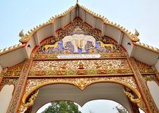 Arch thai lanna Stock Images