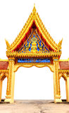 Arch Thai temple Royalty Free Stock Photos