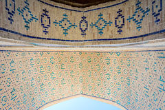 Arch with tiles, Bukhara Royalty Free Stock Image
