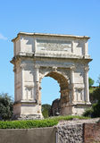 The Arch of Titus at Forum Roman, Rome, Italy Stock Photography