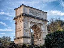 Arch of Titus, Forum Romanum, Rome, Italy Stock Photography