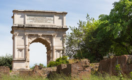 Arch of Titus Stock Image