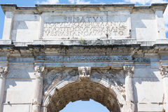 Arch of titus Royalty Free Stock Images