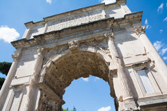 Arch of titus Stock Photography