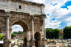 The Arch of Titus Royalty Free Stock Image
