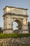Arch of Titus, Roman Forum, Rome, Italy Royalty Free Stock Photography