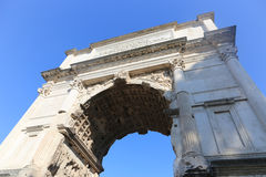 Arch of Titus, Rome Royalty Free Stock Images