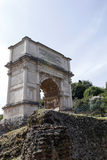 Arch of Titus in Rome, Italy Stock Photography