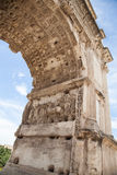 The Arch of Titus, Rome, Italy Stock Image