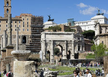 The Arch of Titus, Rome Royalty Free Stock Image