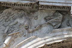 Arch of Titus, Rome Stock Images