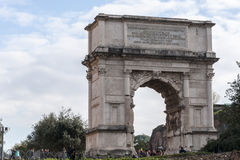 Arch of Titus Royalty Free Stock Photo