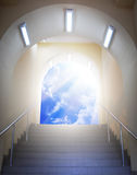 Arch to God. Element of design Royalty Free Stock Images