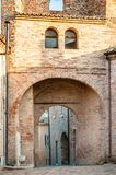 Arch of the Tower Bell of Monteguiduccio Stock Images