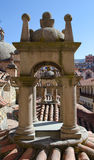 Arch Tower on the Roof of Cathedral Stock Image