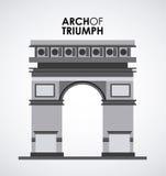 arch triumf Ilustracja Wektor