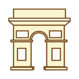 arch triumf Royalty Ilustracja